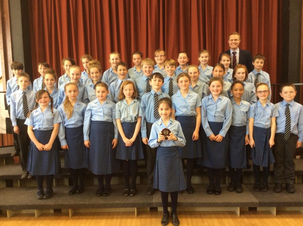 Junior Choir - WADEBRIDGE WINNERS 2015 2