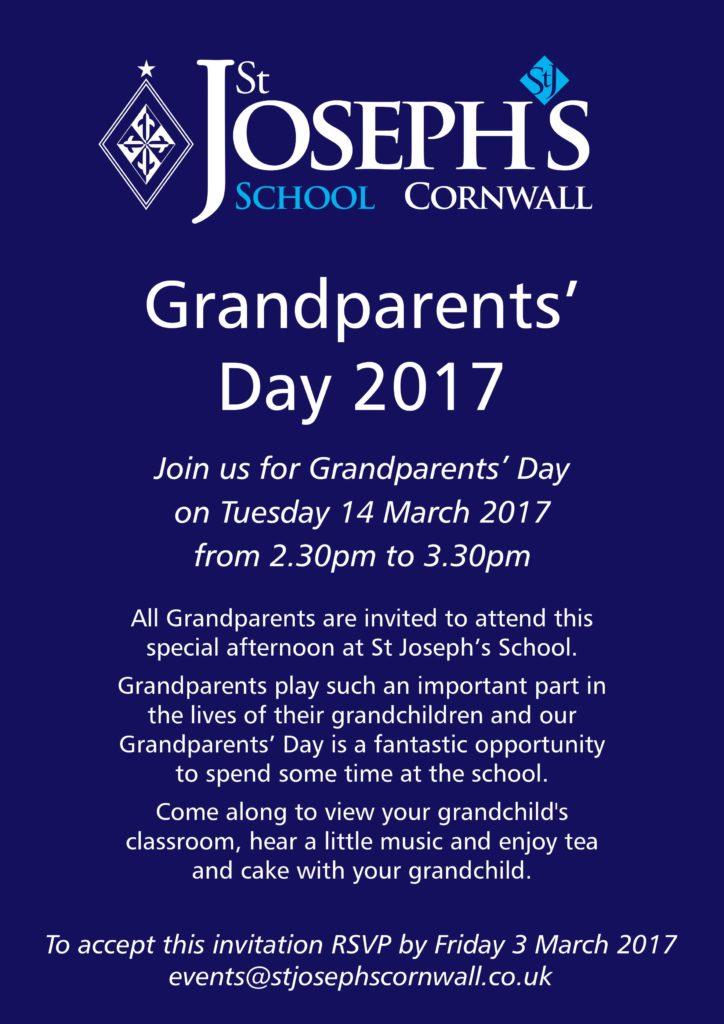 Grandparents' Day - St Joseph's SchoolSt Joseph's School